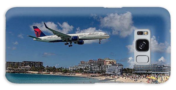 Delta Air Lines Landing At St Maarten Galaxy Case
