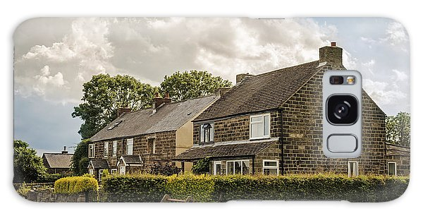 English Countryside Galaxy Case - Derbyshire Cottages by Amanda Elwell
