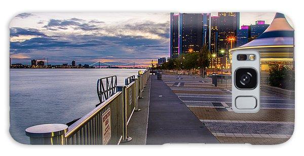 Detroit River Walk Galaxy Case