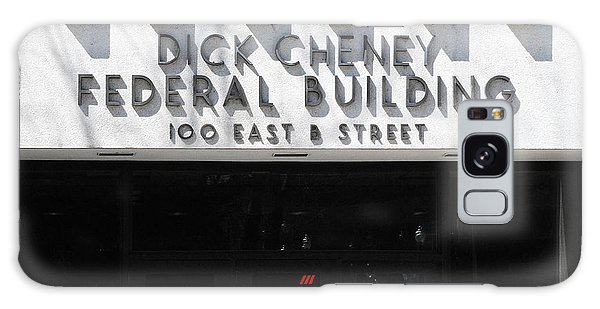 Dick Cheney Galaxy S8 Case - Dick Cheney Federal Bldg. by Oscar Williams