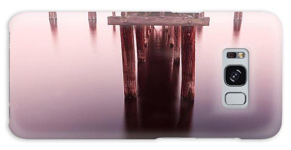 Dock At Twilight Galaxy Case