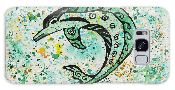 Dolphin 2 Galaxy Case