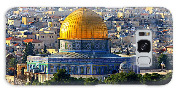 Islam Galaxy Case - Dome Of The Rock by Stephen Stookey