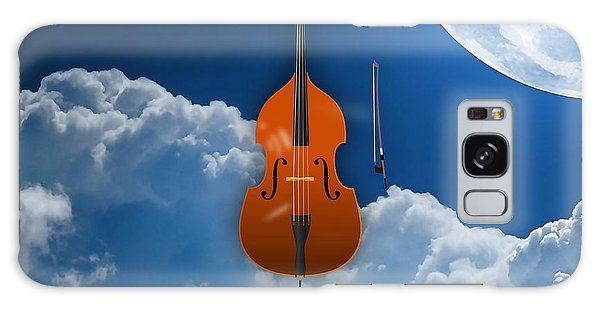 Double Bass Galaxy Case by Marvin Blaine