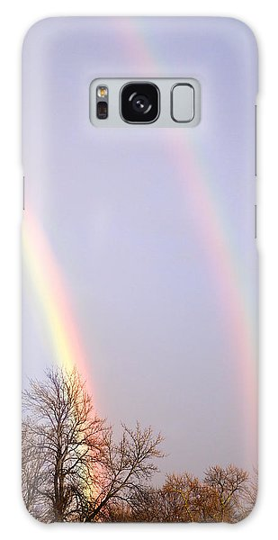 Double Rainbow Galaxy Case