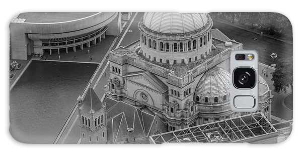 Downtown Boston Bw Galaxy Case by Trace Kittrell