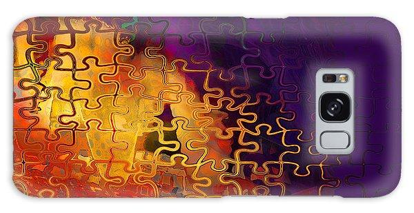 Dragon's Teeth Puzzle Galaxy Case by Constance Krejci