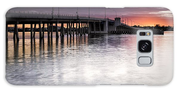 Drawbridge At Sunset Galaxy Case