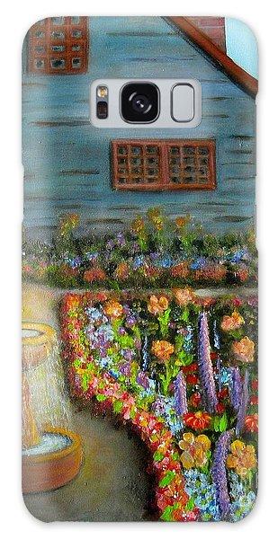 Dream Garden Galaxy Case by Laurie Morgan
