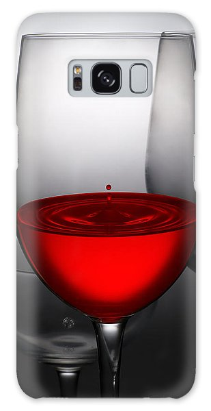 Drops Of Wine In Wine Glasses Galaxy Case by Setsiri Silapasuwanchai