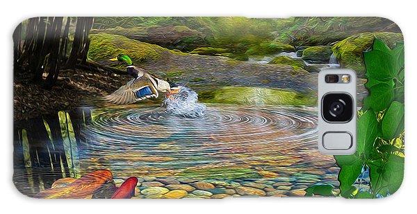 Duck Pond Galaxy Case
