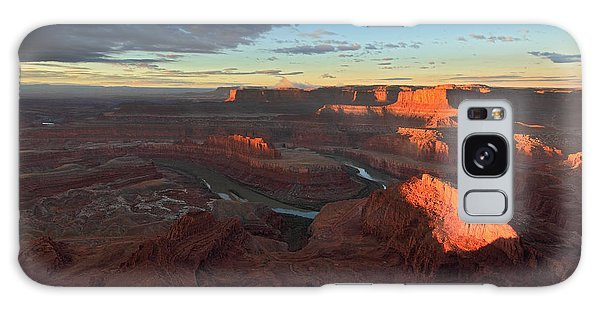 Early Morning At Dead Horse Point Galaxy Case