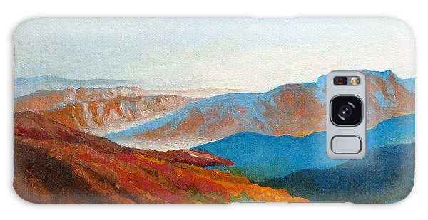 East Fall Blue Ridge Mountains 2 Galaxy Case by Catherine Twomey