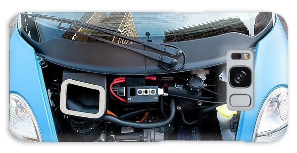 Motor City Galaxy Case - Electric Car Motor by Philippe Psaila/science Photo Library