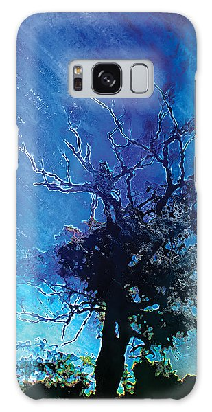 Electric Tree Galaxy Case by The Art of Marsha Charlebois