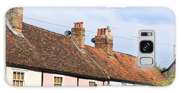 Bury St Edmunds Galaxy Case - English Cottages by Tom Gowanlock