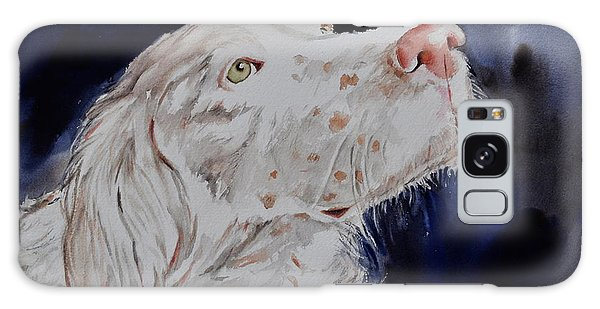 English Setter  Galaxy Case