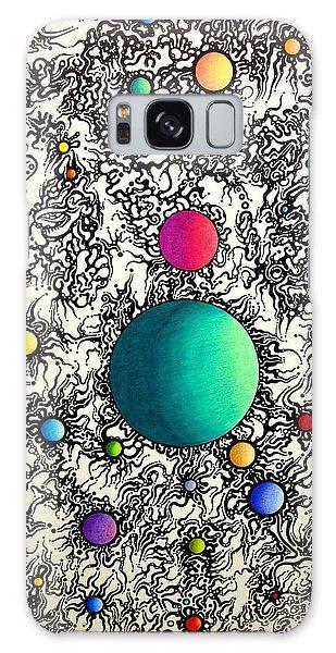 Entropy Color Variation 6 Galaxy Case by Devin  Cogger