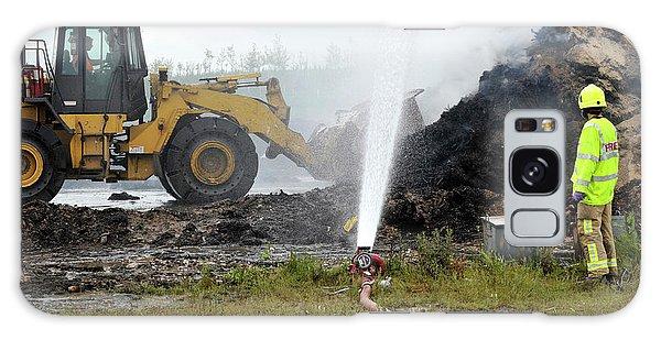 Excavator Galaxy Case - Environmental Fire Services by Public Health England