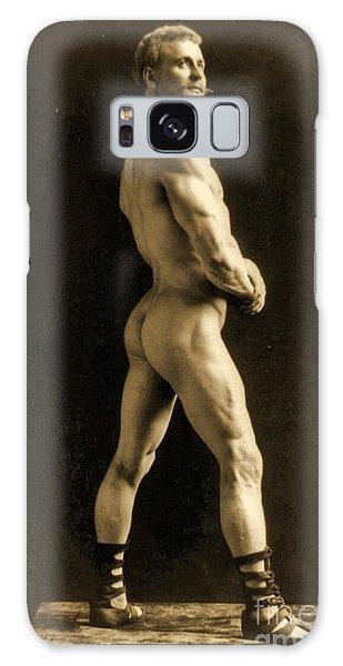 Physical Galaxy Case - Eugen Sandow by Napoleon Sarony