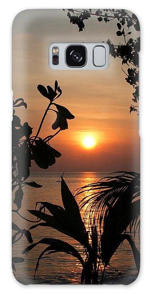 Evening Sun Galaxy Case