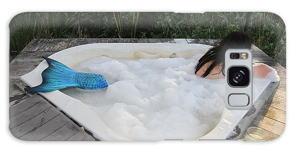 Everglades City Florida Mermaid 001 Galaxy Case by Lucky Cole