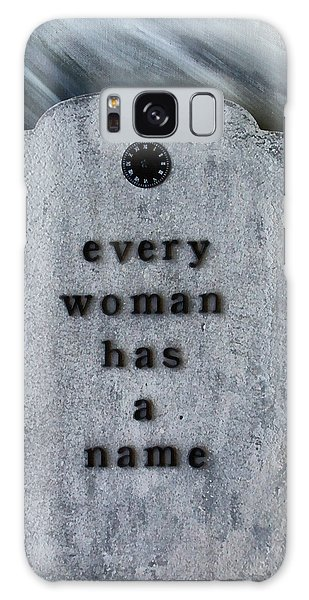 Alice Cooper Galaxy Case - Every Woman Has A Name by Angelina Tamez