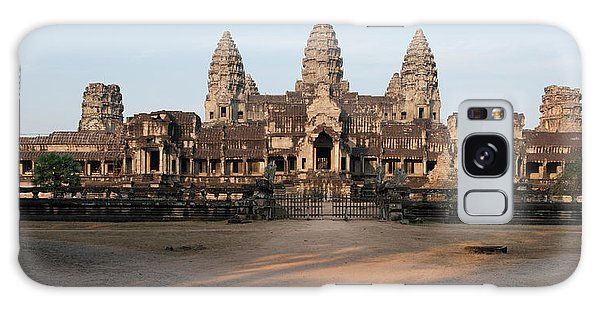 Place Of Worship Galaxy Case - Facade Of A Temple, Angkor Wat, Angkor by Panoramic Images