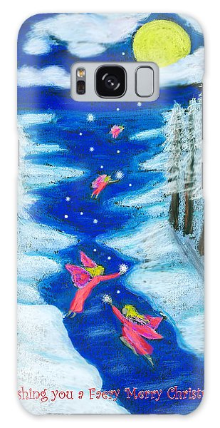 Faery Merry Christmas Galaxy Case