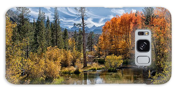 Fall At Bishop Creek Galaxy Case
