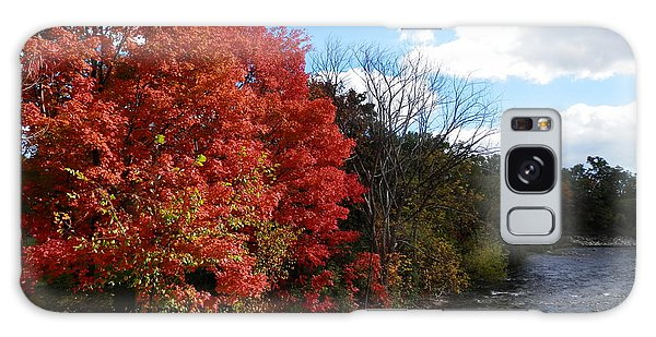 Fall At The Credit River Galaxy Case