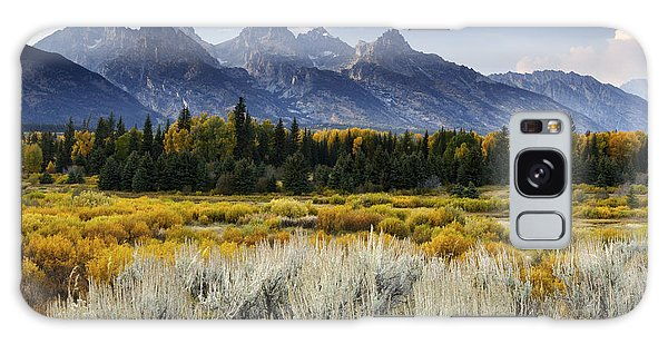 Fall In The Tetons Galaxy Case