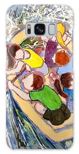 Family Vacation Galaxy Case by Marilyn Jacobson
