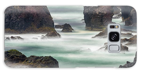 Basalt Galaxy Case - Famous Cliffs And Sea Stacks Of Esha by Martin Zwick