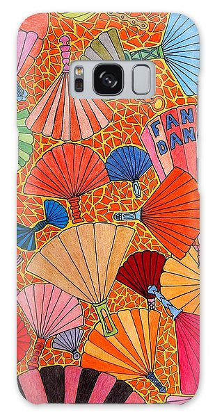Fan Dance Galaxy Case