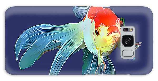 Fantail Goldfish Galaxy Case