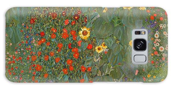 Farm Garden With Sunflowers Galaxy Case