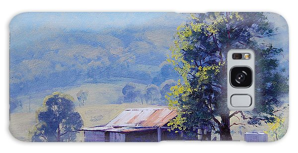 Rural Scenes Galaxy S8 Case - Farm Shed by Graham Gercken