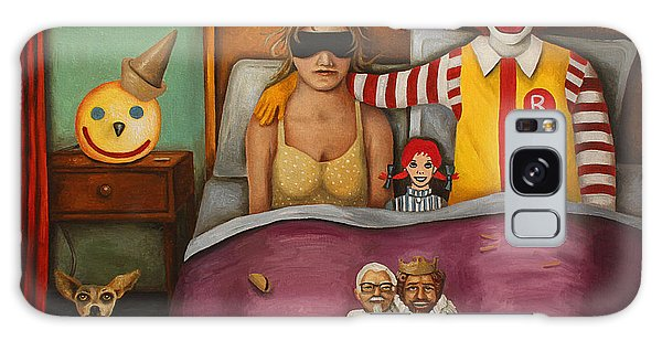 Fast Food Nightmare Galaxy Case by Leah Saulnier The Painting Maniac