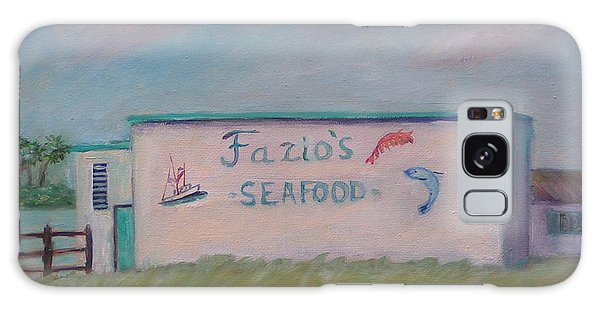 Fazios Seafood In St Augustine Florida Galaxy Case