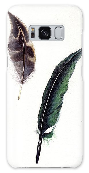 Feathers Galaxy Case