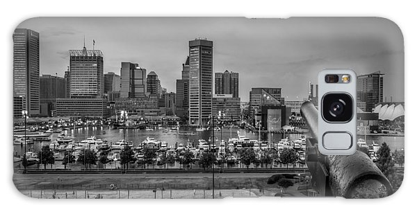 Galaxy Case featuring the photograph Federal Hill In Baltimore Maryland by Susan Candelario