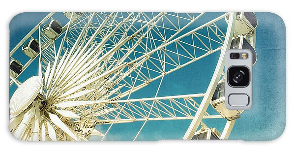 Attractions Galaxy Case - Ferris Wheel Retro by Jane Rix