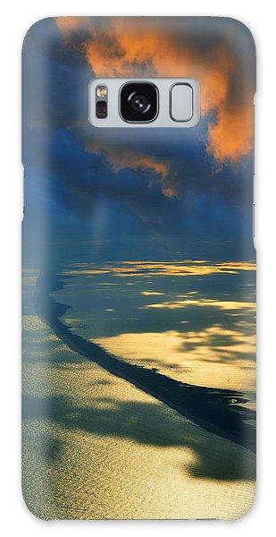 Islanders Galaxy Case - Fire Island  by Laura Fasulo
