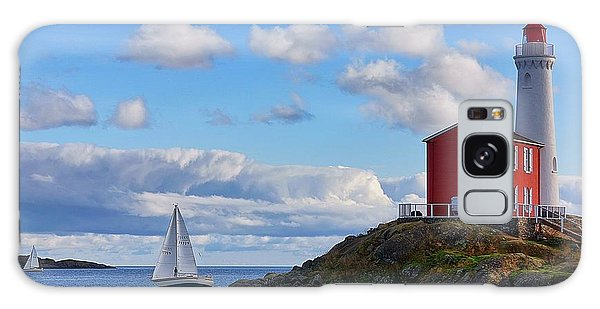 Fisgard Lighthouse Galaxy Case by Keith Boone