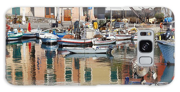 fishing boats in Camogli  Galaxy Case