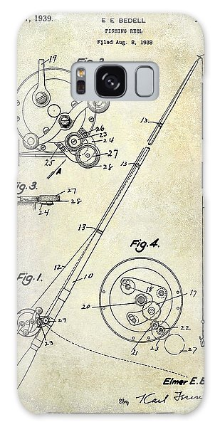 Fishing Reel Patent 1939 Galaxy Case