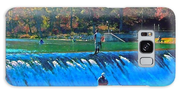 Fishing The Spillway Galaxy Case