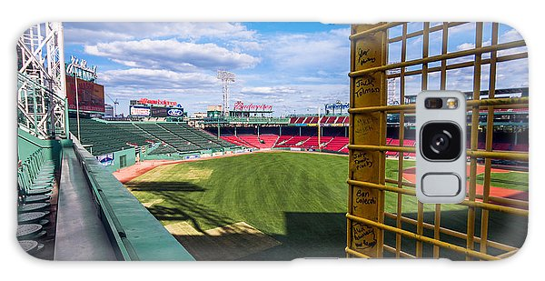 Fisk's Pole And The Green Monster Galaxy Case by Tom Gort