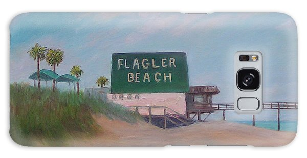 Flagler Beach Florida Galaxy Case